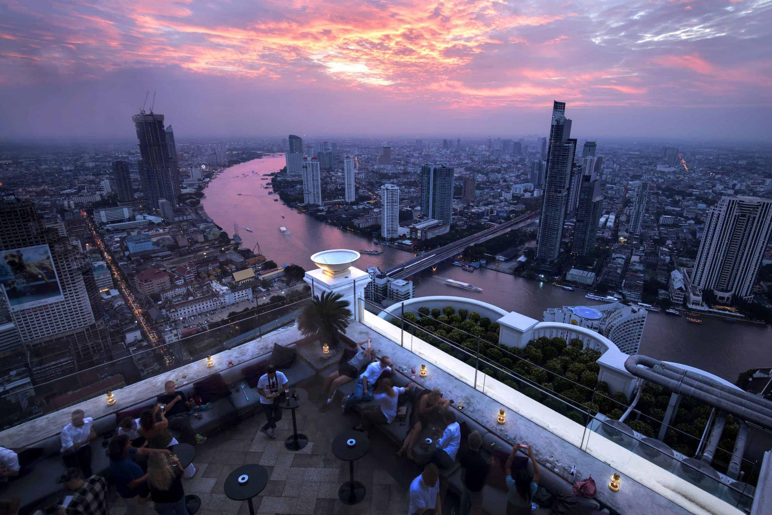 river view city skyline