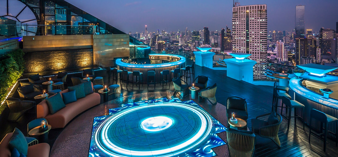 Overview of lebua No.3 Bar