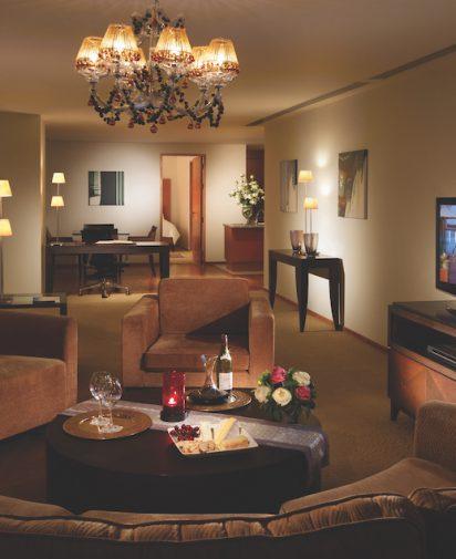Tower Club living room