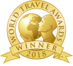 Gold Logo of World Travel Awards Winner 2018