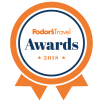 Logo of Fodor's Travel Awards 2018