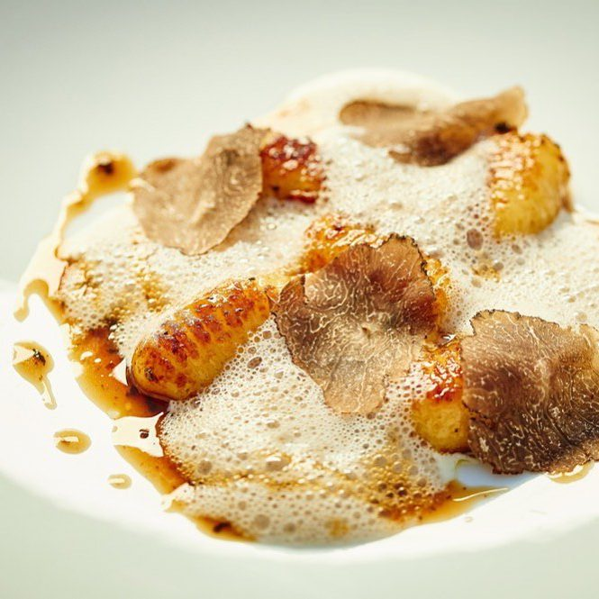 Italian Gnocchi and Black Truffle